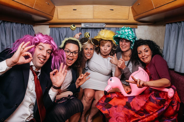 """Unsere mobile Fotobox im Caravan """"Lucie"""" - Partyfoto"""