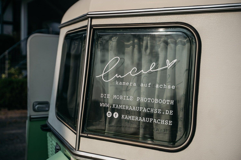 "Unsere mobile Fotobox im Caravan ""Lucie"" - Social Media"