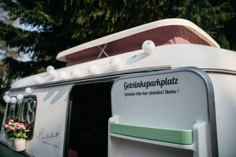 """Unsere mobile Fotobox im Caravan """"Lucie"""" - Getränkeparkplatz"""