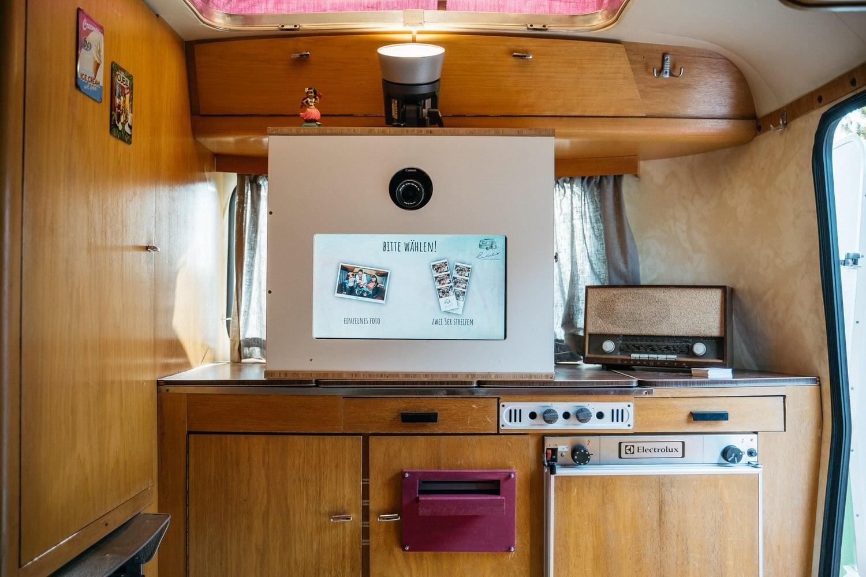 "Unsere mobile Fotobox im Caravan ""Lucie"" - Technik"